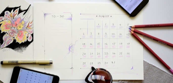 Whether your calendar is on your phone or done by paper and pen, you can use it to improve your time management and create a better work and life balance.