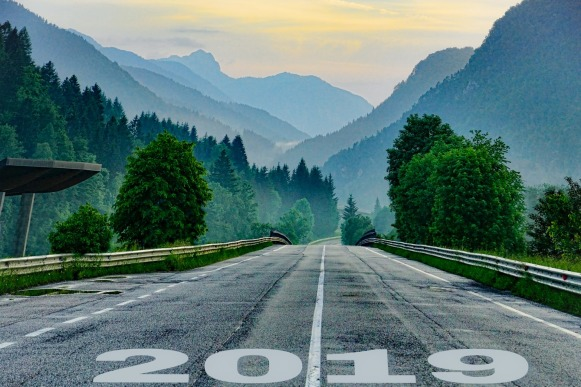 Take the road that will lead to the most effective change in 2019 by choosing a word of the year